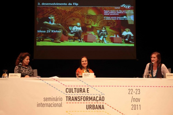 Seminário Cultura e Transformação Urbana - Foto 4