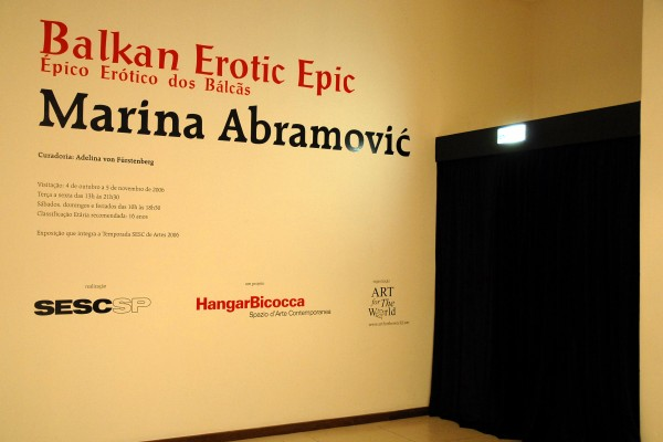 Exposição Balkan Erotic Epic – Marina Abramovic - Foto 4